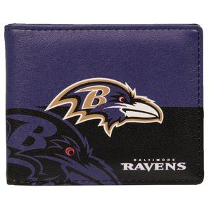 NFL Baltimore Ravens Bi-Fold Wallet
